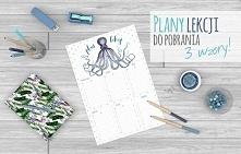 Plany lekcji w 3 wzorach do pobrania i wydrukowania