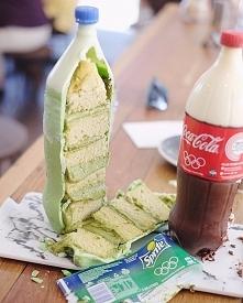 Ciasta w kształcie butelek :)