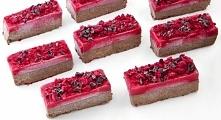 Wegańskie lody czekoladowo-malinowe z karobem
