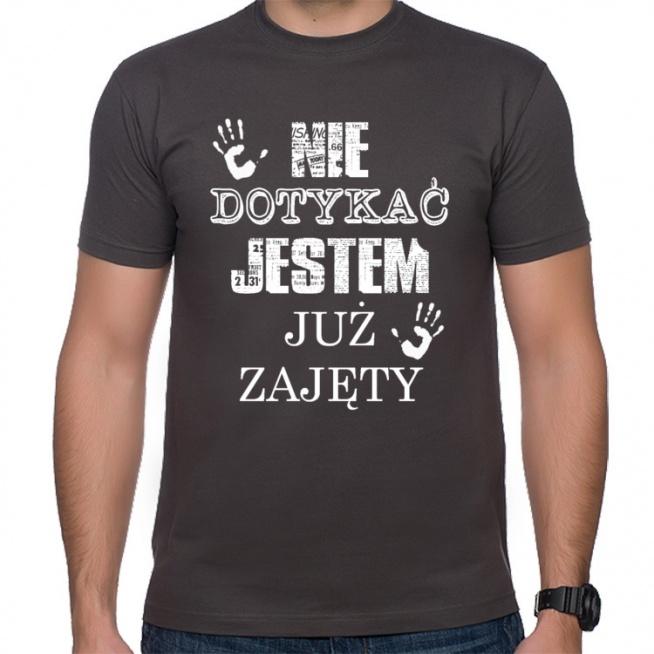 tshirt męski, nie dotykać