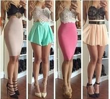 spódniczki na każdą okazję