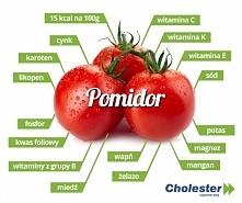 pomidor - witaminy