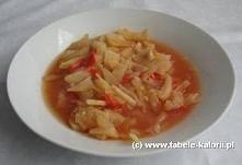 Przepis na zupę kapuścianą:...
