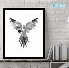 plakat,obraz,coś mówi ten ptak,obraz ma byc zagadką do myślenia