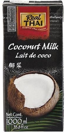 Mleko kokosowe UHT w kartonie (1000 ml)