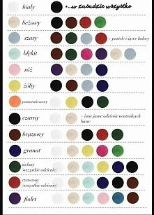 Przewodnik po dobieraniu kolorów
