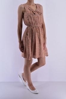 Sukienka w kratę. Odzież damska online.