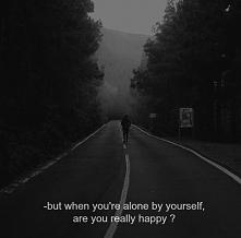 Człowiek jest samotny, pozostawiony samemu sobie