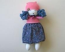 Szmaciana lalka. Wykonanie: Babskie Uroczysko