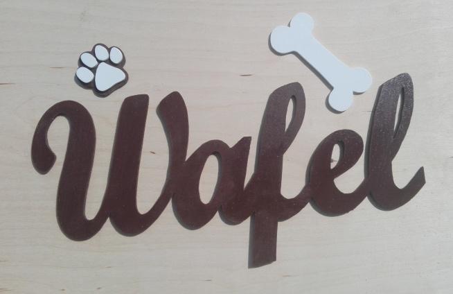 Napis Wafel