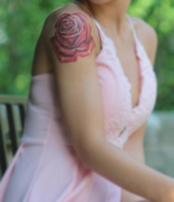 My tattoo rose <3