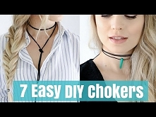7 Crazy Easy DIY Chokers Tu...