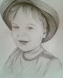 Portret mojego autorstwa. :)