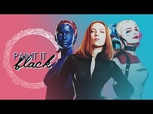 Marvel & DC Multifemale | Paint It Black