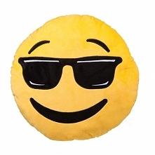Poduszka Emoji - Cool w rozmiarze XL :D Super pomysł na prezent!