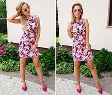 Sukienka w kolorowe kwiaty Illuminate <3<3<3