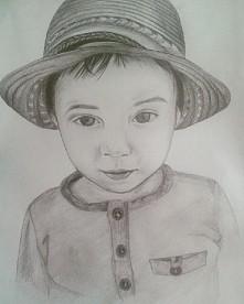 Portret mojego autorstwa :)