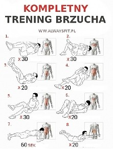 Brzuch - propozycje ćwiczeń