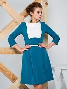 Sukienka z nowoczesnej tkan...