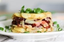 ziemniaczki z kiełbaska - swojski obiadek
