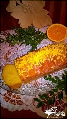 Babka mocno pomarańczowa. Pyszne i proste ciasto. Polecam :) * przepis po kli...