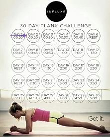 30-dniowe wyzwanie z plankiem.