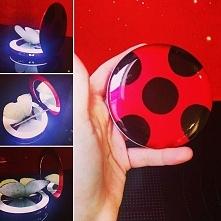 podręczne lusterko jako yo-yo Biedronki