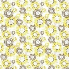 Tkanina bawełniana Dużo Słoneczników (kliknij i kup)
