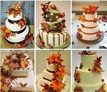 Torty w barwach jesieni