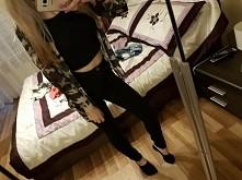 koszula moro i to co lubie najbardziej... czern:)
