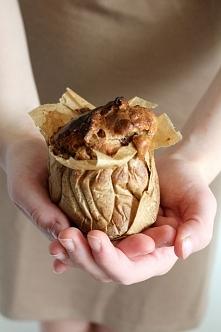 muffina śniadaniowa z jabłkiem i cynamonem - klik w zdjęcie po przepis