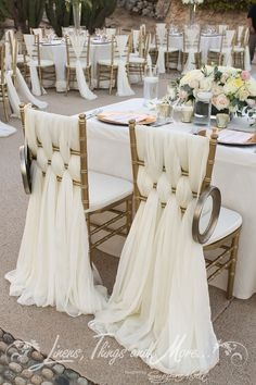 pomysł na ozdobę krzeseł
