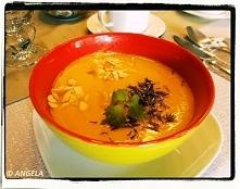 Zupa krem z dyni wg Cioci Grażynki (kliknij na foto po przepis)