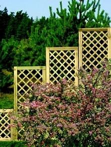 Drewniane kratki na kwiaty ...