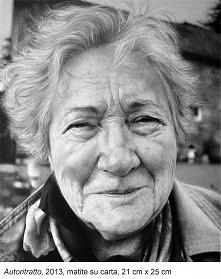 Portret - szkic ołówkiem - ...