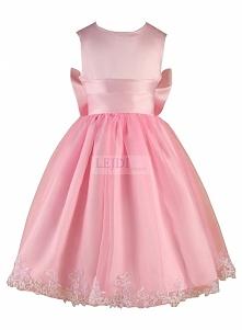 długa sukienka dla dziewczynki