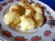 Proste, regionalne danie z ziemniaków i mąki.... Link z przepisem w pierwszym...