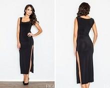 Zjawiskowa, czarna sukienka MAXI. Podoba się wam??  ♡ ♡ ♡ ♡ ♡ ♡ ♡ ♡ ♡ ♡