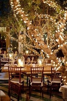 pomysł na wesele w ogrodzie...