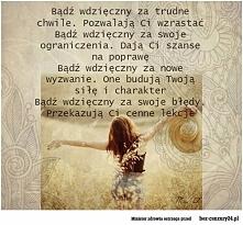 Bądź wdzięczny :)