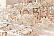 Biel-ecru-zloto :) Jak dla mnie idealne zestawienie na wesele ♡