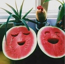 no uśmiechnij się do arbuzi...