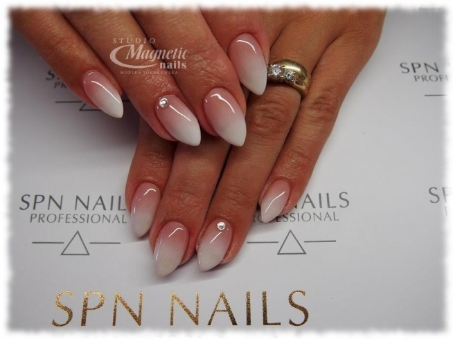 Klasyczny Baby Boomer Nails By Monika Studio Magnetic Nails M Na