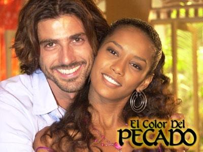 """""""Barwy grzechu""""  Paco jest synem bogatego właściciela ziemskiego. Gdy poznaje ubogą, czarnoskórą Prety, która prowadzi stragan na jednym z placów w Sao Luis, zakochuje się w niej od pierwszego wejrzenia. Oczywiście ze wzajemnością. Niestety Paco jest już zaręczony z Barbarą, która go nie kocha i nie jest mu wierna. Barbara jest w ciąży, ale ojcem dziecka nie jest jej narzeczony, tylko Kaike jej kochanek. Zakochany Kaike prosi ją, by za niego wyszła, ale ta woli wygodne i luksusowe życie jako żona Paco, który jest przekonany, że to on jest ojcem dziecka."""