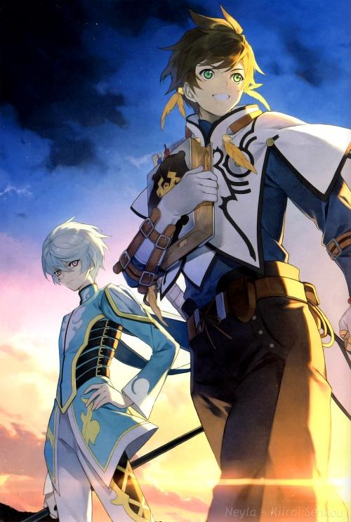 Mikleo i Sorey z Tales of Zestiria the X