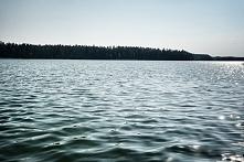 Jezioro w Walnym...