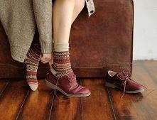 buty jesień oxford