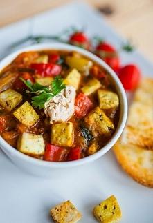 Leczo wegetariańskie z tofu - leczo lepsze niż tradycyjna, mięsna receptura. ...