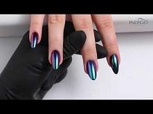 Boski efekt kameleona na paznokciach ♡  Nowość z Indigo - MetalManix Chameleon (kolor Butterfly). Co sądzicie?