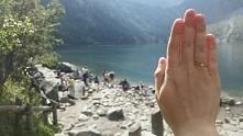 Zareczyny w gorach :)
